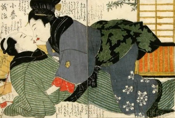 Секс в японском исскустве