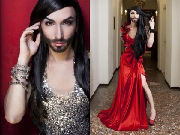 Трансвестит в платье, как правильно ебаться фото крупным планом