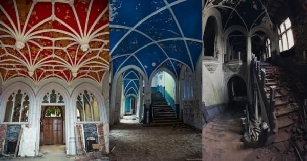 Таинственные заброшенные замки 4