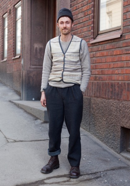 Уличная мода в Финляндии