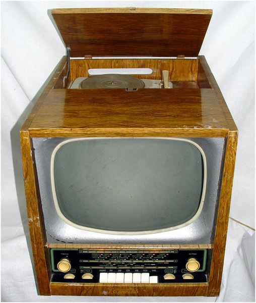 Включение ТВ и приёмника