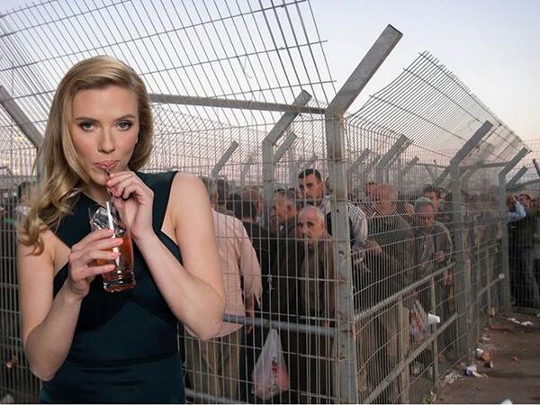Скарлет Йохансон вляпалась в арабо-израильский конфликт 1