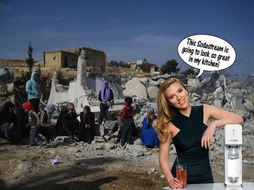 Скарлет Йохансон вляпалась в арабо-израильский конфликт 5