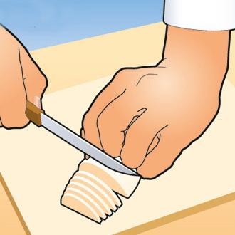 Научись резать быстро, как повар 3