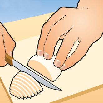 Научись резать быстро, как повар 4