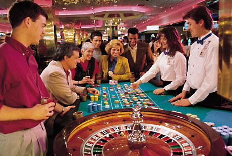 Первое посещение казино