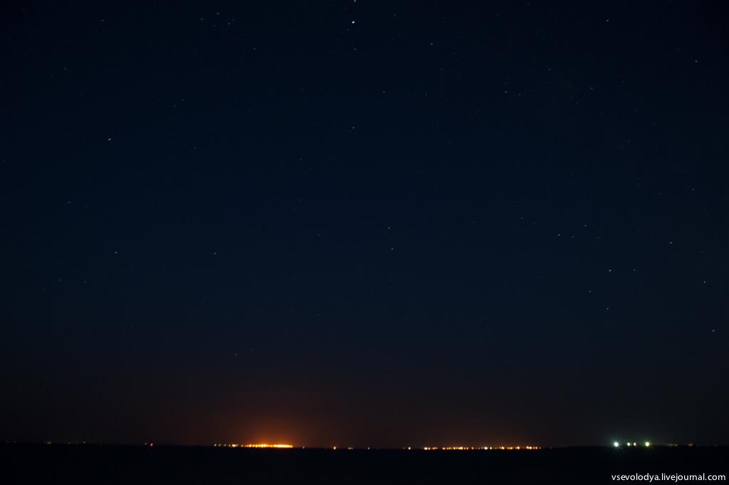 фото ночного неба минска