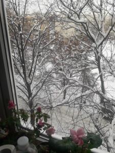 А за окном зима