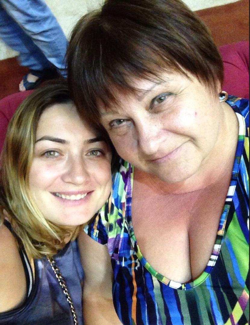 Мария Таубес (жена Сергея Арсентьева) и Надежда Маремуха (сестра матери М.Таубес)