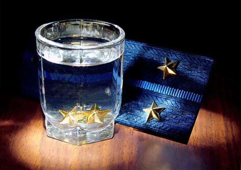 Открытка с присвоением звания подполковника, про холодное