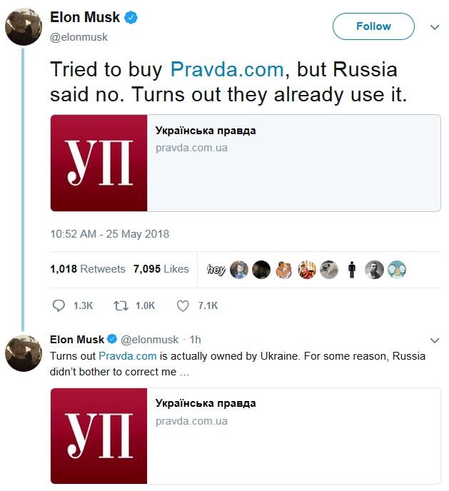 Pravda Musk