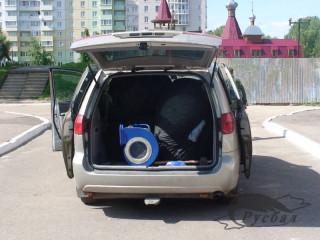 Toyota Sienna Club - Можно ли в Сиенну запихнуть МИГ-31 в натуральную величину?... Можно :-)