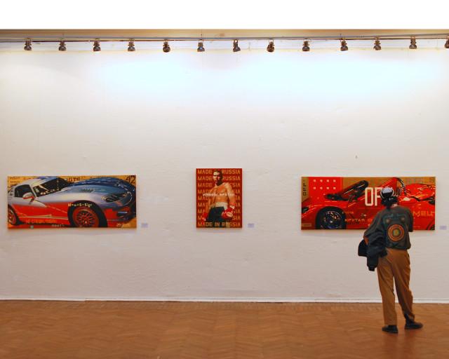 выставка Игоря Пестова