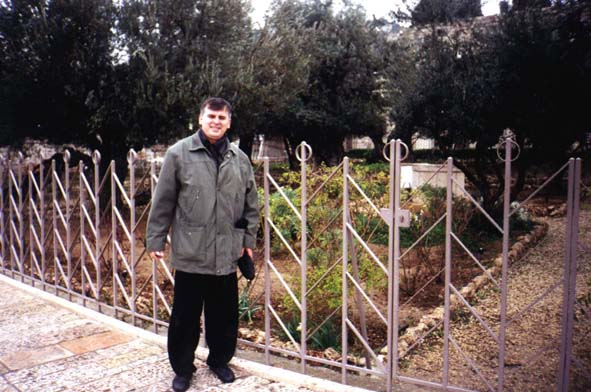 О. Кшиштоф в Гефсиманском саду