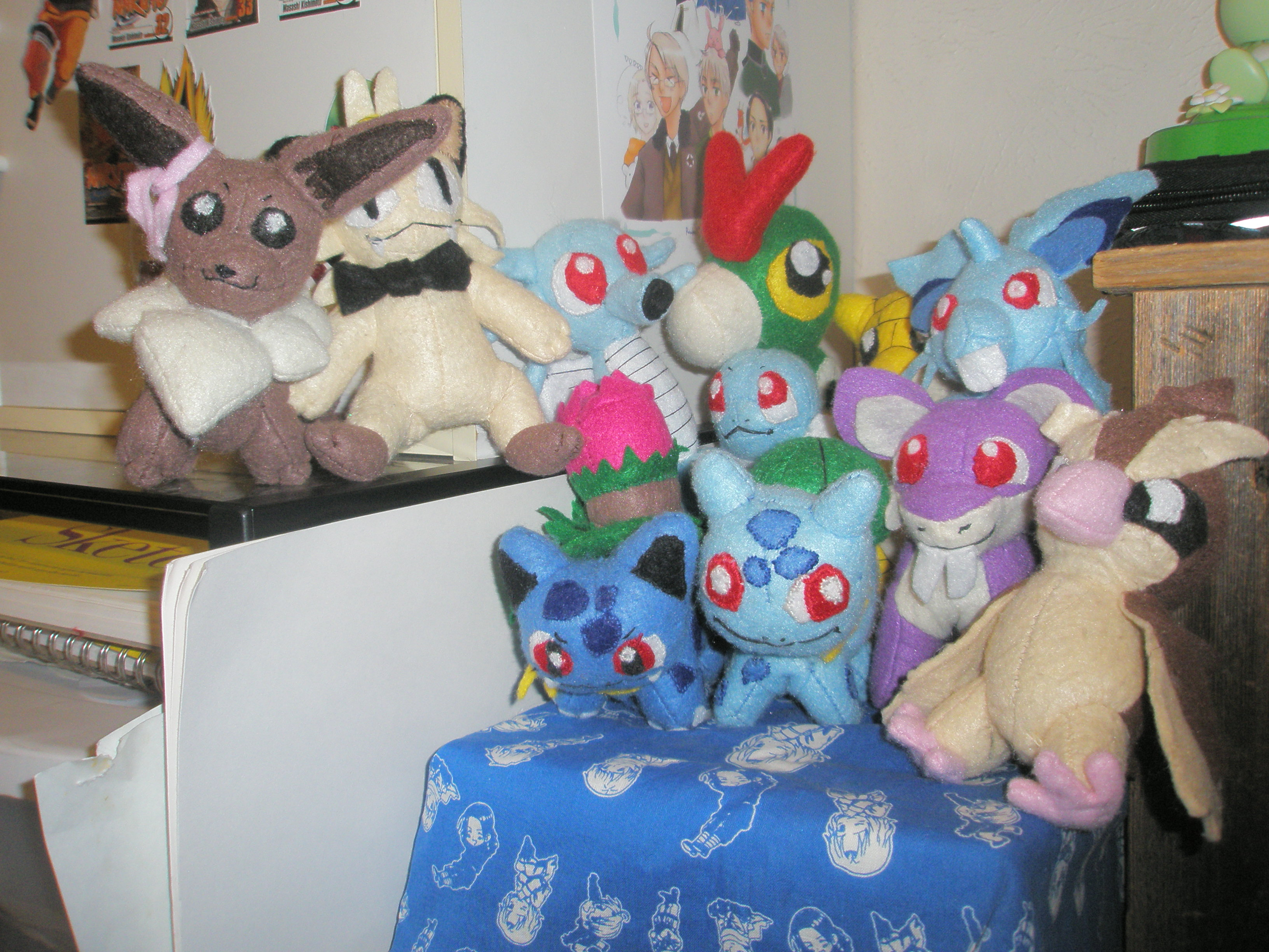Pokemon Plushies Gang