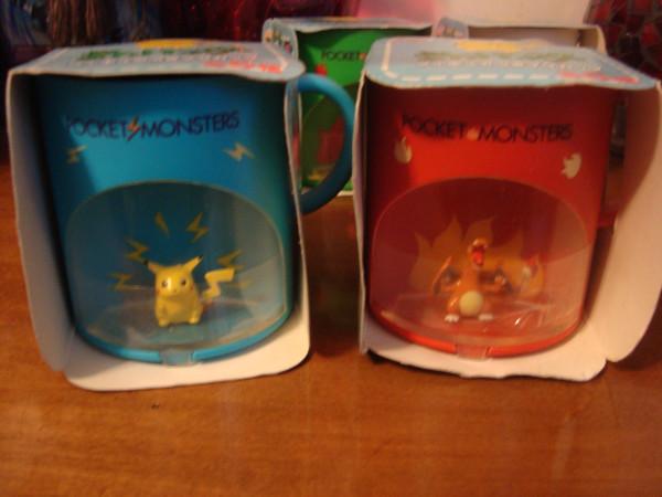 pika charuzard mugs