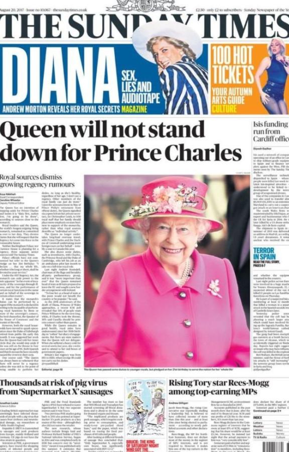 Елизавета II не отречется в пользу принца Чарльза
