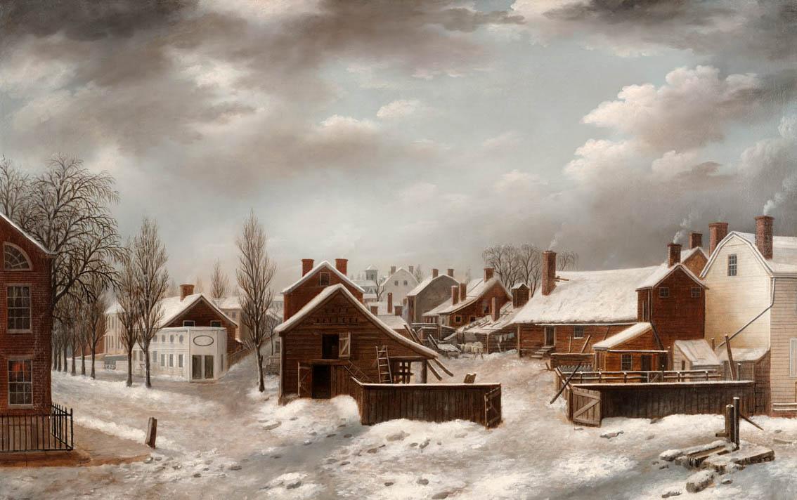Francis Guy winter in brooklyn
