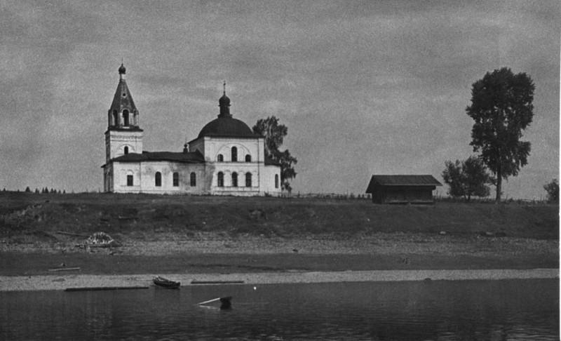 деревня Борщовик, приход деда