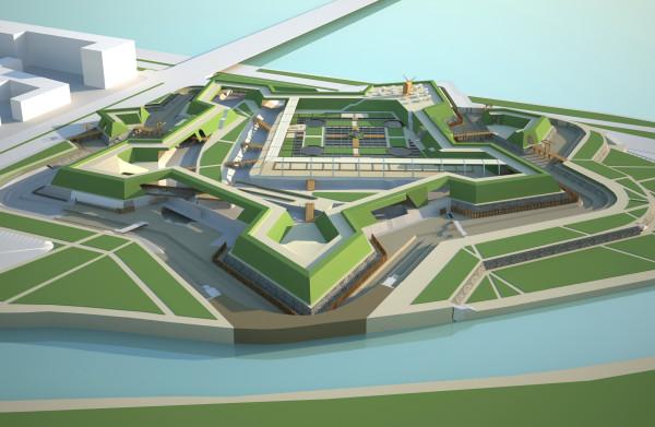 Проект археологического музея на Охтинском мысу