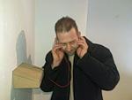 Демонстрация нейрофона на выставке Колумбово Яйцо