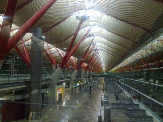 Аэропрт в Мадриде