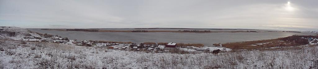 Панорама Дона в районе Пятиизбянки