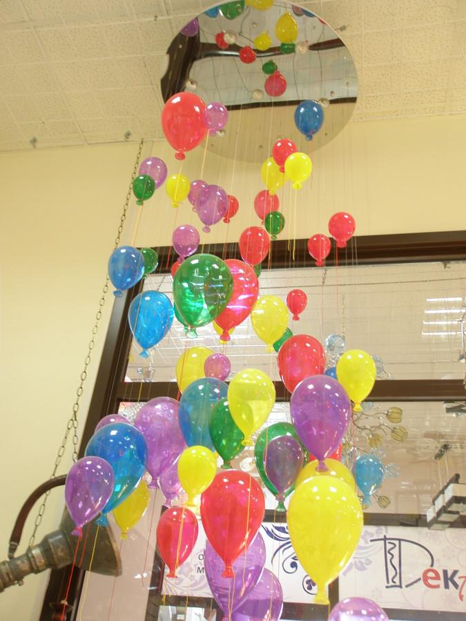 люстра в виде воздушных шариков все материалы дизайн