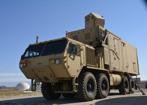 В США испытали мобильный боевой лазер