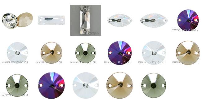 Стразы и кристаллы Сваровски