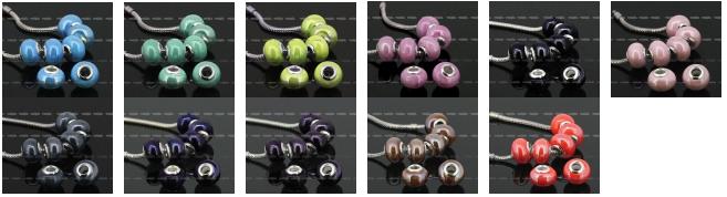 Керамичесские бусины для браслетов Пандора: