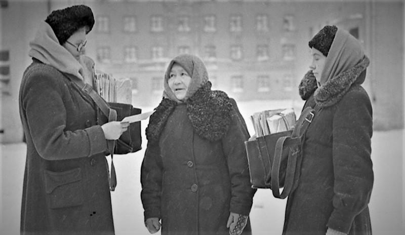 Норильские почтальоны. 1954 г.