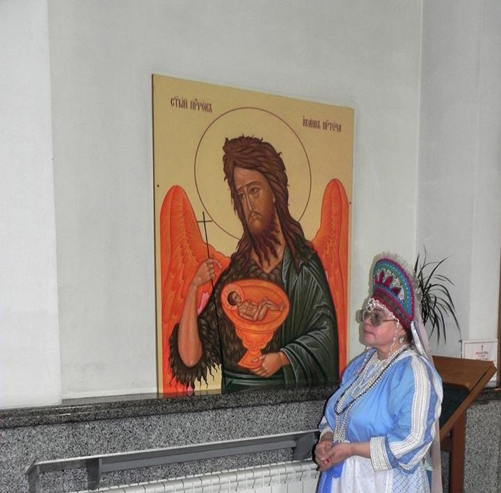 Святче Пророче и Предтеча Господень Иоанне,моли Бога о нас!