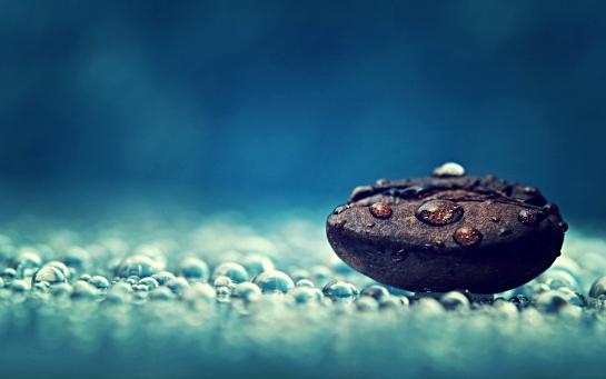 кофе под дождем