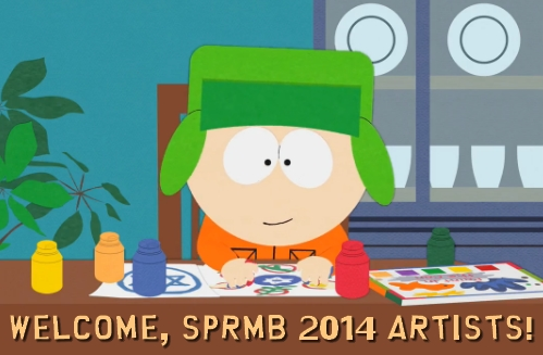 welcome sprmb'14 artists
