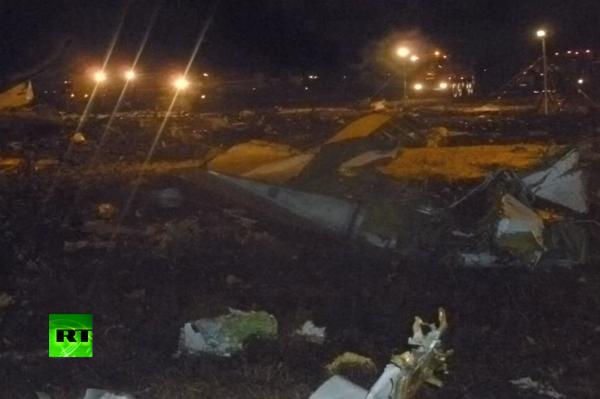 Разбившейся самолет в Казани