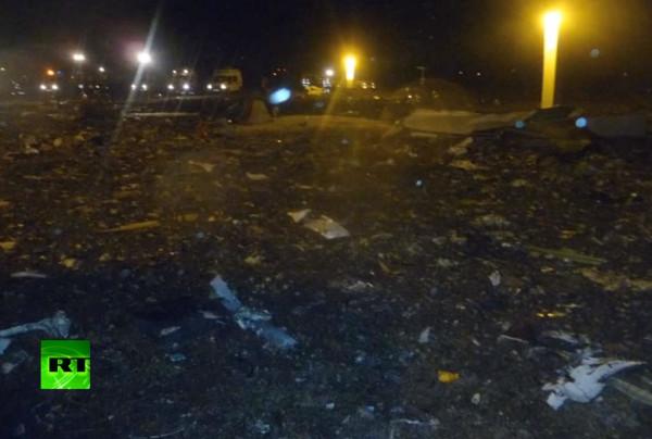 В Казани разбился самолет Boeing 737
