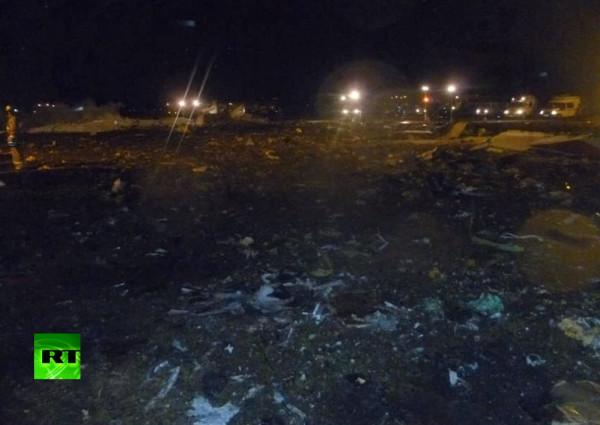 с места аварии в Казани