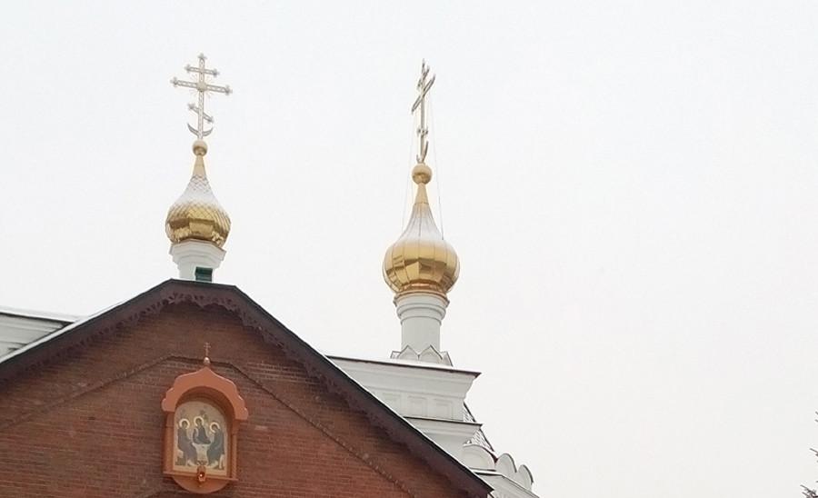 Прогулка по Красноярску зимой 0