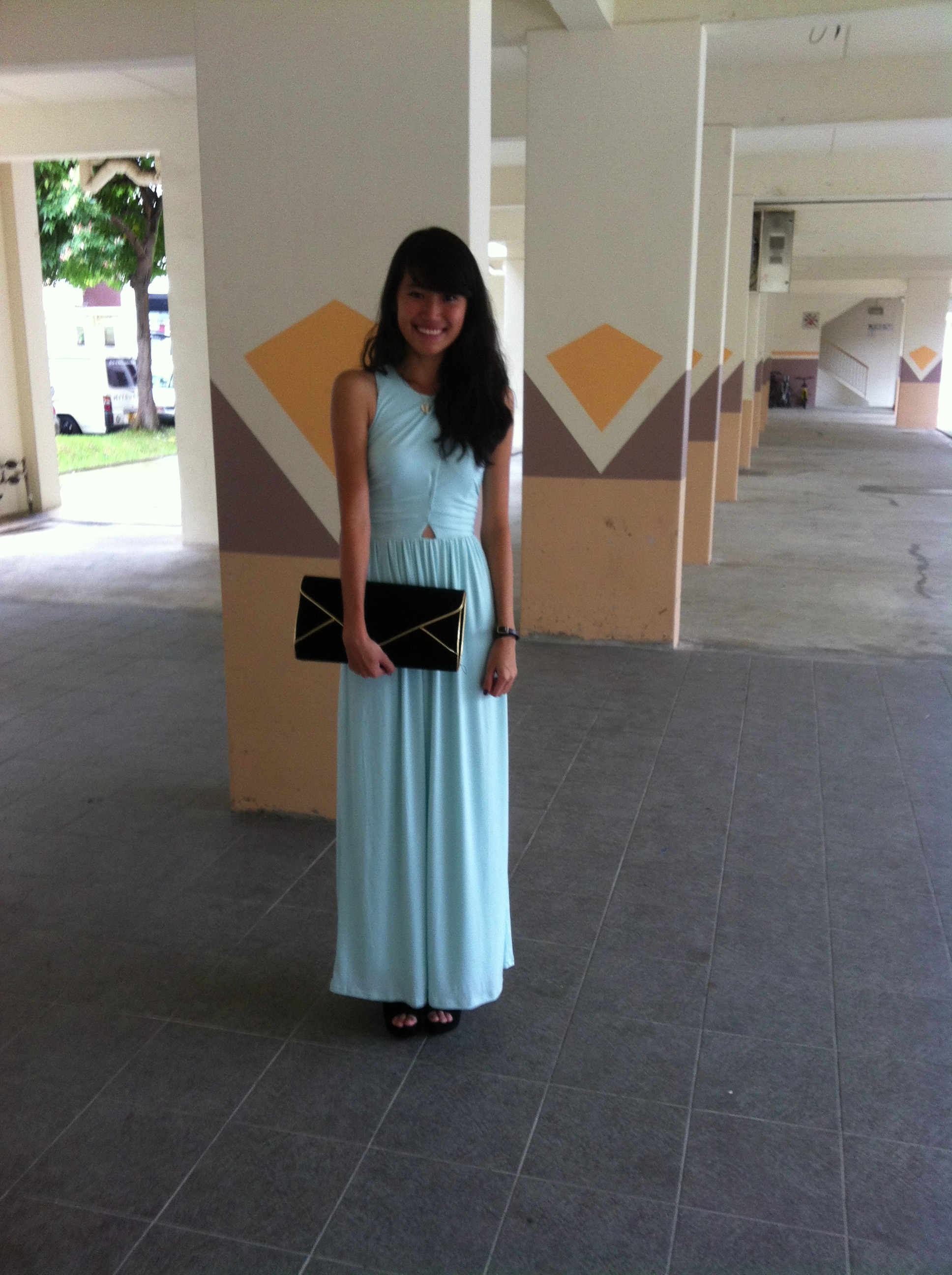 Aforarcade gaia maxi dress