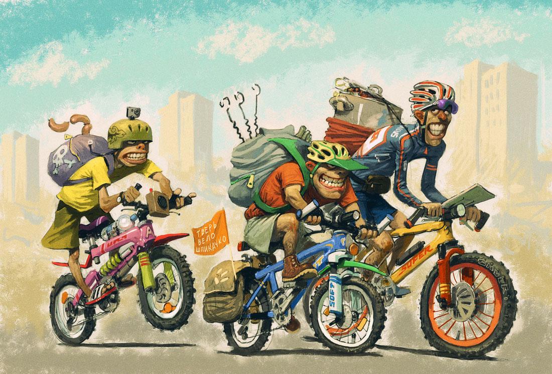 childrens bikers deliver bears - 1100×745