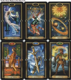 Favorite New Tarot Decks Acqired in 2008