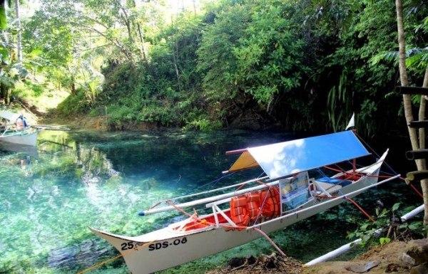Необычная и зачаровывающая река Hinatuan5