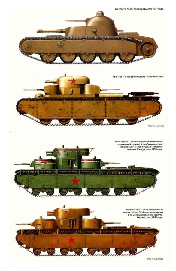 Тяжёлый танк т 35 сухопутный дредноут