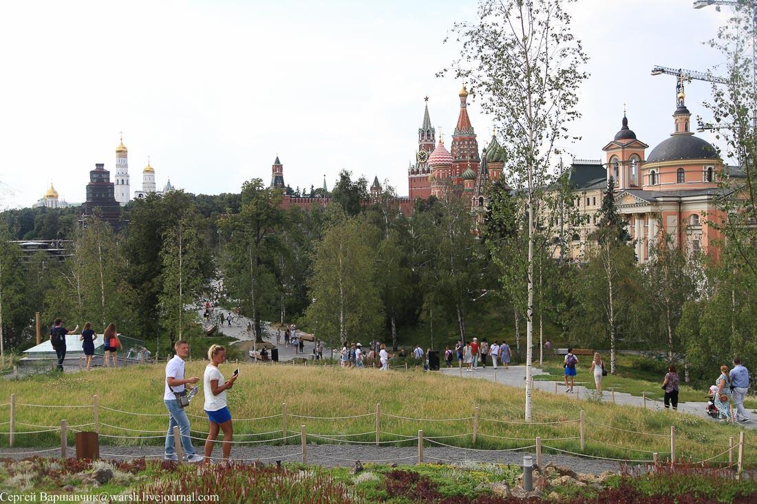 Лес вокруг Кремля