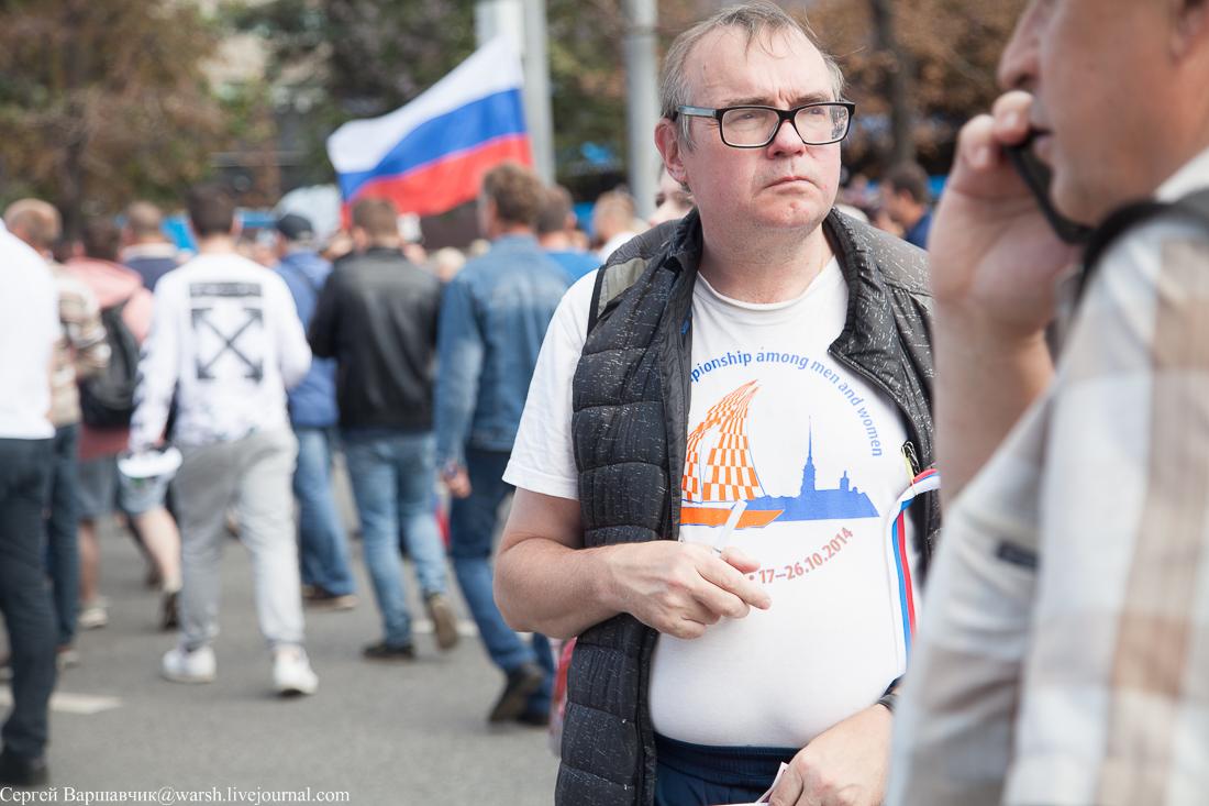 Путинг-концерт на проспекте Сахарова