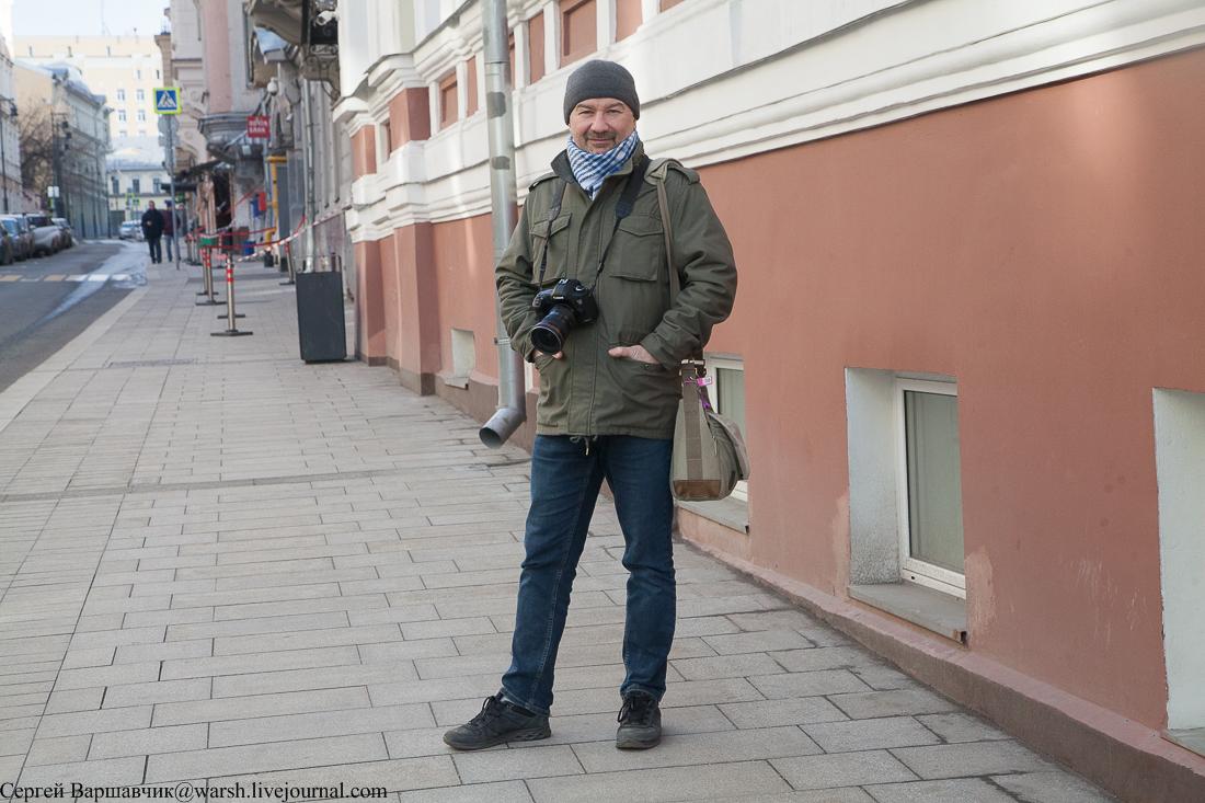 Прогулялись по полупустой Москве