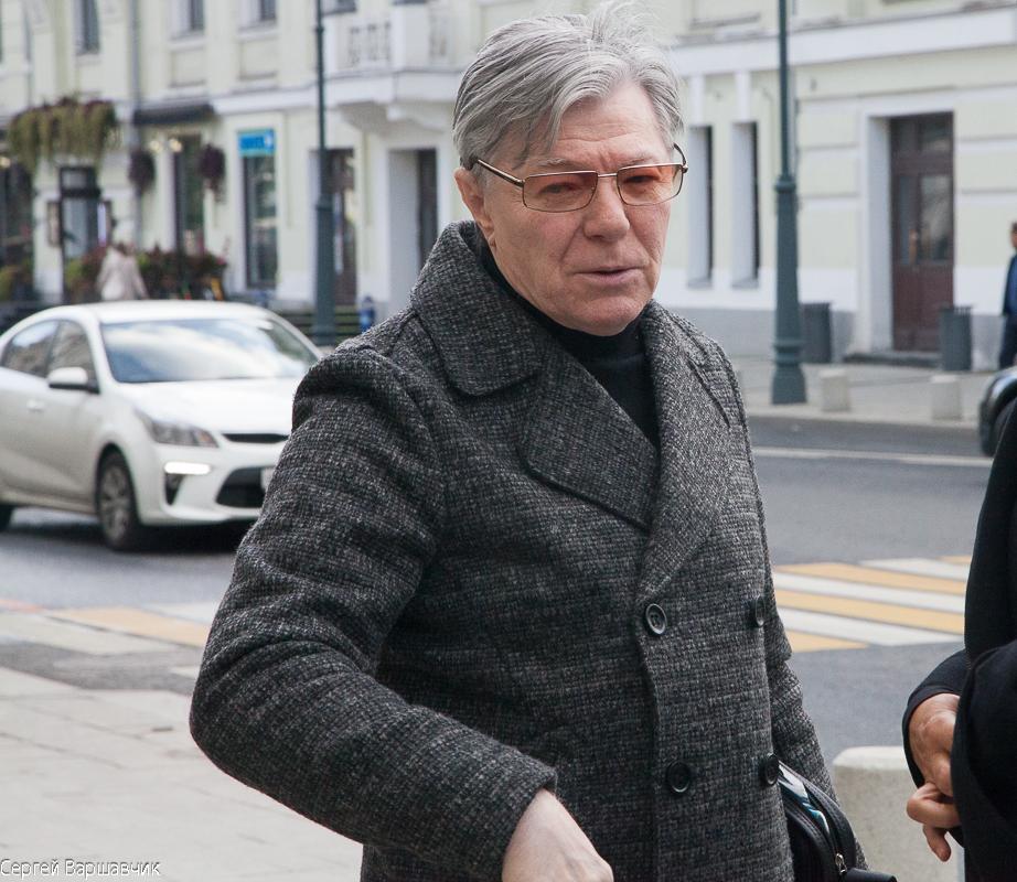 Народный артист РСФСР Александр Збруев сегодня