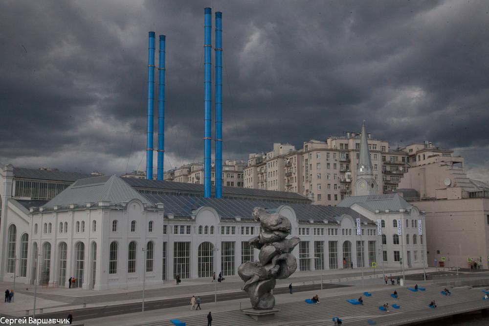 Ознакомился с новой московской достопримечательностью
