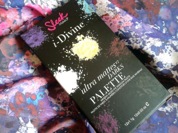 Sleek MakeUp Ultra Mattes V2 Dark I-Divine Palette